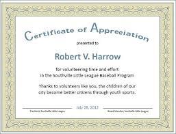 Appreciation Certificates Wording Stunning Certificate Of Appreciation Words Bino48terrainsco