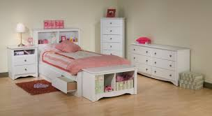 kids white bedroom set storage