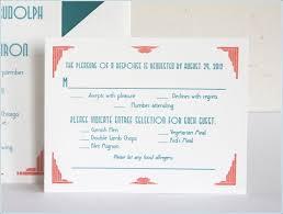 Wedding Rsvp Card Wording With Meal Choice Wedding Invitation Rsvp