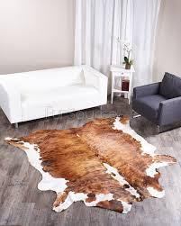 brindle tricolor brazilian cowhide rug 006 39 sq ft