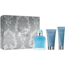 Dolce And Gabbana Light Blue 1 6 Price Dolce Gabbana Light Blue Eau Intense Pour Homme Gift Set