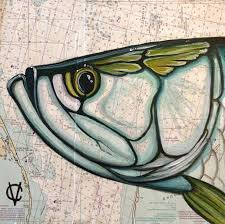 Paintings On Nautical Charts