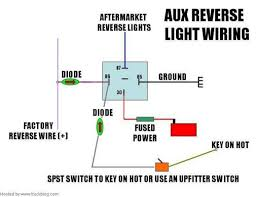 reverse light switch wiring diagram wiring diagram how to backup era wiring reverse switched and manual image for larger version reverse lights switch diagram