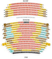 Cogent Lyric Arts Seating Chart Modell Performing Arts