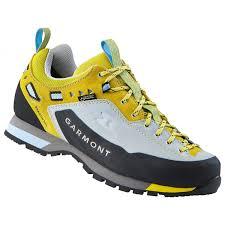 Garmont Womens Dragontail Lt Gtx Approach Shoes Light Blue Lemon 4 5 Uk