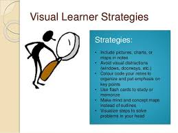 Visual Learning Strategies Plsgs Session 1 Personal Learning Style