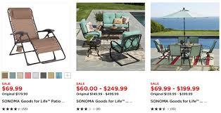 patio furniture at kohl s plus 10