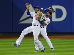 NY Mets lose to Giants in 13 innings as players collide on fly ball