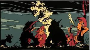 Canada : Brûler Asterix et Lucky Luke, un message de paix ?