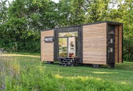 tiny house companies. Exellent Tiny Exterior Wood Siding Material Flat RoofLine And Tiny Home Building Type  New Frontier To House Companies