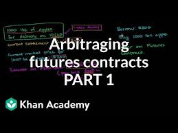 Making Contracts More Profitable Stunning Arbitraging Futures Contract Video Khan Academy