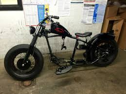vintage replica bobber rolling chassis no reserve