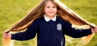 تطويل شعر الاطفال موضوع