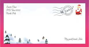 New Letter To Santa Template Free Download For Santa Letter Santa