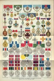 Antique Print Of British Medals Orders Decorations