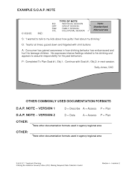 Counseling Soap Note Example List For Notes Pinterest Soap
