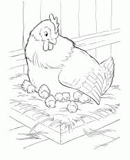 Small Picture Coloring Pages Fried Chicken Printable Coloring Sheet Anbu
