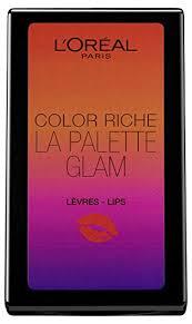 L'Oreal Lipstick Color Riche La Palette Glam 6g by L ... - Amazon.com