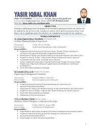 Civil Draughtsman Resume Sample