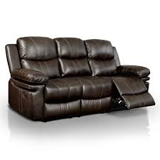 Ellister Transitional 2-Piece Brown Bonded Leather Match Reclining Sofa Set  - Free Shipping Today - Overstock.com - 19428339