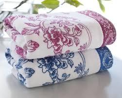 cotton hand towels for bathroom. 34*75cm 4pcs printed flower cotton hand towels set,soft designer face bathroom for e