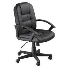 Office chair walmart Mesh Departments Walmart Mainstays Mid Back Leather Chair W Armrest Walmartcom