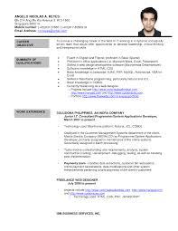 resume writing singapore