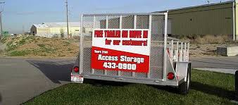 we encourage new customers to take advane of our free trailer with new move in and mark storage