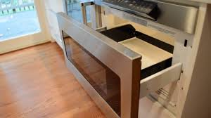 pull out drawer microwave. Oakton Kitchen Remodel SHARP Automatic PullOut Microwave Demo On Pull Out Drawer