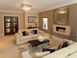 Modern Color Combination For Living Room Two Tone Wall Colors White Drop Ceiling Paneling Neutral Paint