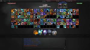 legends of dota lod mode v2 pick your skills