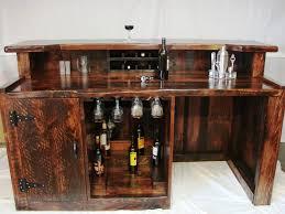 home mini bar furniture. Interior Designs:Elegant Rustic Style Mini Bar Furniture Set Ideas For Home