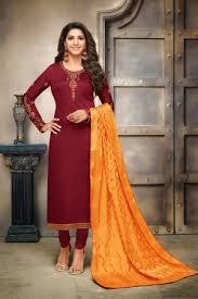 Maroon Suits Shop For Maroon Salwar Suit Online At Craftsvilla