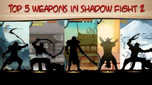 shadow fight 2 weapon top 5 weapons in shadow fight 2 part 1