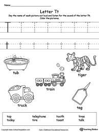 things that begin with the letter t useful beginning sound t worksheets on words starting with letter t