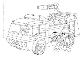 Fire Truck Coloring Pages To Print Antiatominfo