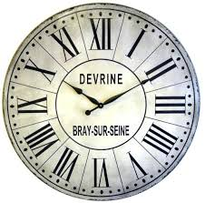 36 inch french tower large wall clock replica antique style roman numerals big 36 lanier rustic