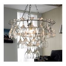 wine glass chandelier loading zoom