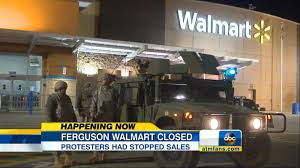 Ferguson Protests Move To Walmart Target Stores For Black Friday