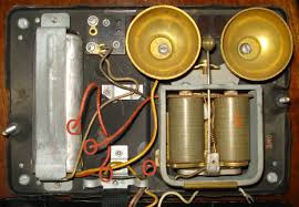 can you help me to rewire this very old telephone telephones here is a picture of the inside four cut wires indicated in red circles i have a standard four wire phone cord a black red green