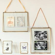 photo frame decorative double sided glass float picture 8x10