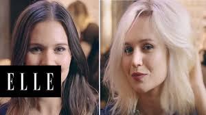 The facial tube blonde brunette