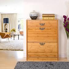 wholesale shoe rack Storage 100% wood Living Room luxury shoe cabinet racks