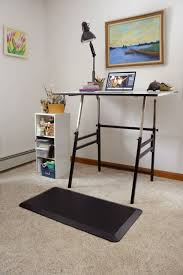 com stand up mat for standing desk comfortably stand for hours while significantly reducing upright stress on your back hips knees and ankles