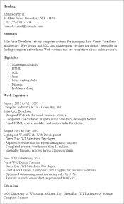 Salesforce Experienced Resumes Salesforce Experienced Resumes Experienced Salesforce Developer