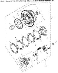 replacing and upgrading to a barnett clutch triumph bonneville exploded view diagram of 2008 triumph bonneville clutch assembly