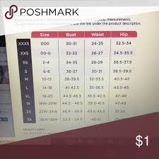 Hsn Size Chart Logo By Lori Goldstein Size Chart From Qvc Check Out All My