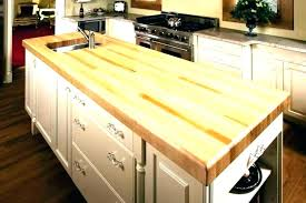 how to install butcher block countertops from ikea s corner friendly counter tops