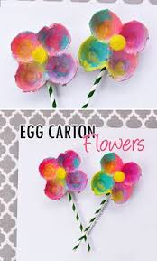 Christmas Crafts With Egg Cartons