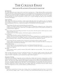 example of essay for college examples bad sample how to write a  appic essay examples toreto co how to write a good college application about yourself help writing